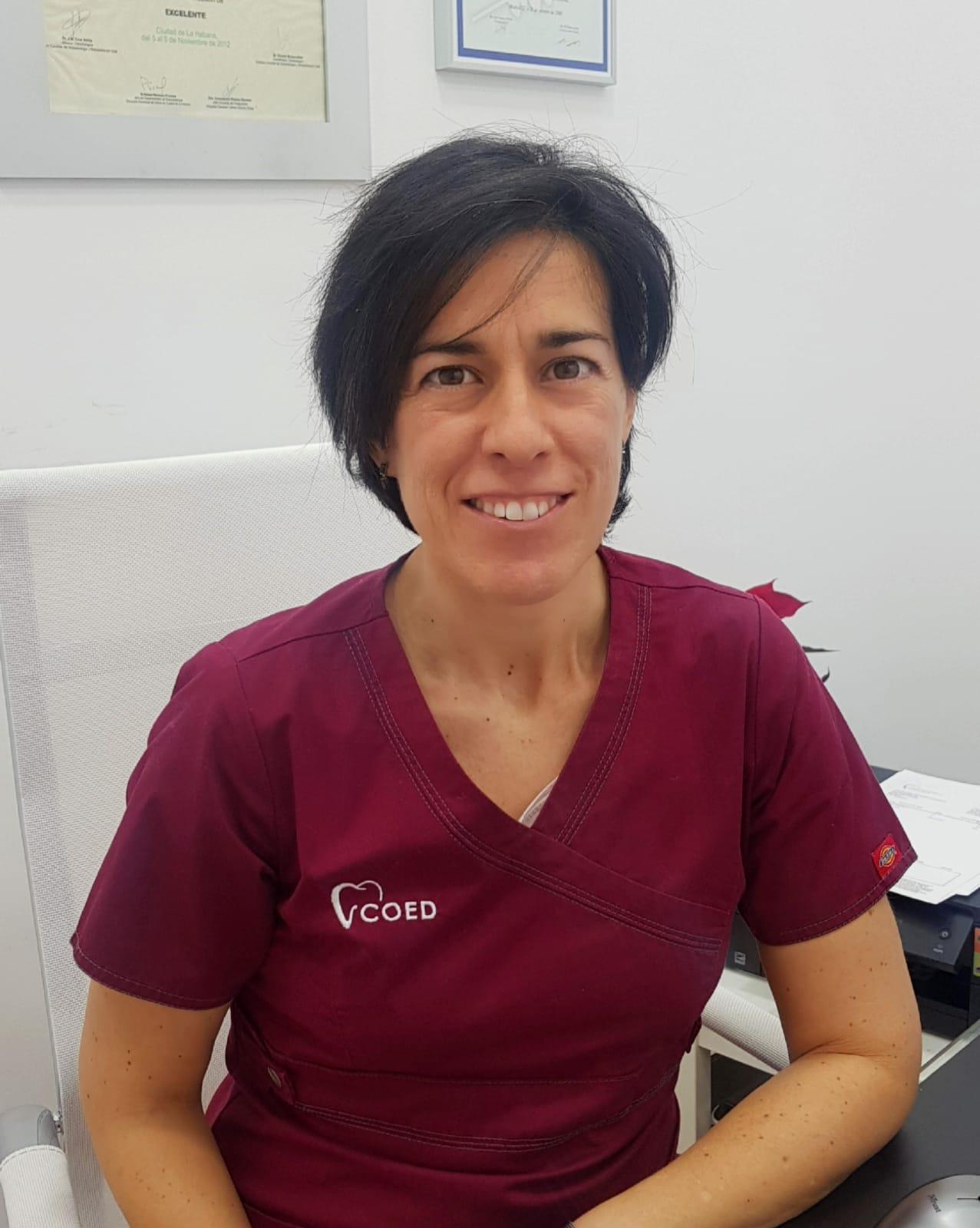 Ana Fuente Martín. Endodoncista en COED Dra. Monica Arranz